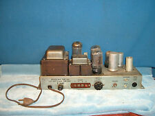 6L6GC USA times two TUBES one MONO BLOCK AMPLIFIER no power up