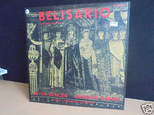 RARE DONIZETTI BELISARIO BOX SET LPS GENCER TADDEI GAVAZZENI PRIVATE PRESSING