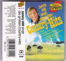 JONNY HILL SINGT DIE GROSSEN COUNTRY-HITS MC © 1986 GERMANY AUDIO KASSETTE TAPE