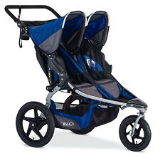 Bob 2016 Revolution Duallie Double Stroller Stroller Strides Blue Free Shipping!