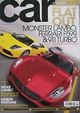 CAR magazine 07/2006 featuring Lamborghini, Porsche, Ferrari, Ford Shelby