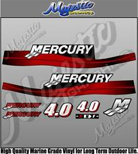 MERCURY 4.0 hp - OUTBOARD DECALS