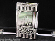 S.T. Dupont Limited Edition Art Deco Palladium Ligne 2 Lighter #0130/1930