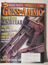 Guns & Ammo Magazine. March 2002. Hornady .17 HMR Winchester 94 P Beretta 9mm