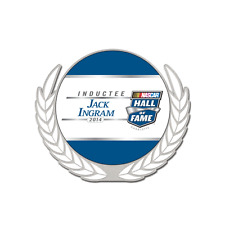 NASCAR HALL of FAME JACK INGRAM 2014 INDUCTEE PIN