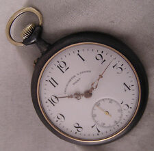 VINTAGE CHRONOMETRE G.DUBOIS TOURS 1900  Swiss Pocket Watch Perfect Serviced
