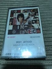 RON WOOD ROLLING STONES SPANISH CASSETTE TAPE SPAIN GIMME SOME NECK SEALED ROCK