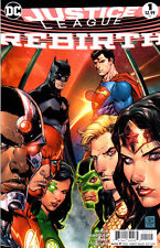 JUSTICE LEAGUE REBIRTH #1 - 2nd Print - New Bagged