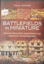 BATTLEFIELDS IN MINIATURE - MAKING WARGAMES TERRAIN - SENT FIRST CLASS - NEW