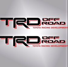 TOYOTA TRD OFF ROAD Decals/Stickers 1 PAIR truck bed USA SHIPPING