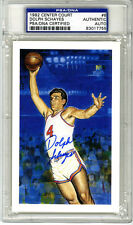 Dolph Schayes SIGNED LE Center Court Card Syracuse Nationals PSA/DNA AUTOGRAPHED