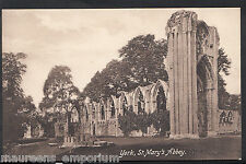 Yorkshire Postcard - York - St Mary's Abbey  RT223