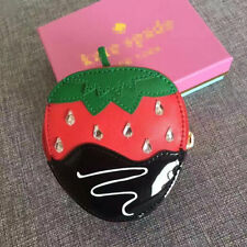 Women's Accessories Chocolate Dipped Strawberry Creme De La Creme Coin Purse