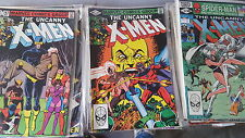 uncanny X-men Comic Lot of 191 152-360 fn-nm bagged annuals 11-13 15-18 95 97