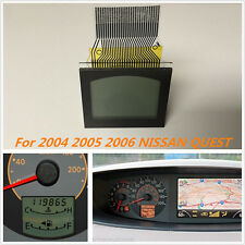 Speedometer LCD Display Screen for 2004/05/06 NISSAN QUEST Instrument Cluster