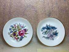Pair of Royal Worcester  Dresser trays / pin dishes  Fine bone china