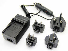 Battery Charger For DMW-BCG10 Panasonic Lumix DMC-TZ20 DMC-TZ22 DMC-TZ25 DMC-ZR1