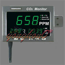 NEW TENMARS TM-187D Large LED Screen CO2  / Temperature / Humidity / Datalogger