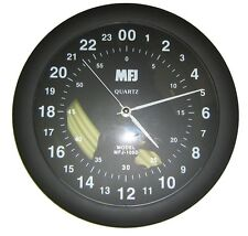 MFJ-105D 24-Hour Analog Quartz Wall Clock