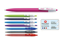 Flair Ezee Click ball Pens Blue ink - Pack of 20 Pens