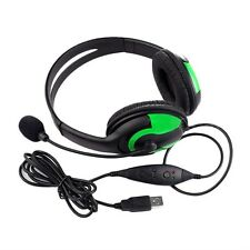 New Wired Headset Headphone Earphone Microphone For PS3 Gaming PC Chat UR