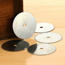 5Pcs Stainless Steel Wood Cutting Wheel Saw Blade Disc Dremel Rotary Craft Tools