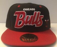 New Era 59/50 Fitted Hat - Chicago Bulls (Black/Red)
