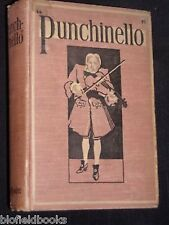 PUNCHINELLO: Victorian Novel by Anne Carstairs-1899-SCARCE Fiction Book