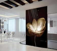 Black Elegant Flower6375 Wall Paper Wall Print Decal Wall Deco Indoor wall Mural