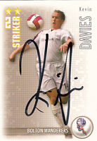 Bolton Wanderers F.C Kevin Davies Hand Signed 06/07 Premiership Shoot Out Card.