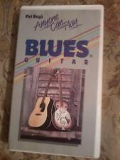 MEL BAY'S Anyone Can Play Blues Guitar VHS Video cassette tape POST FREE