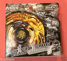 TAKARA TOMY BEYBLADE WBBA BBG16 GOLD Dark Knight Dragooon Ronin Dragoon+LAUNCHER