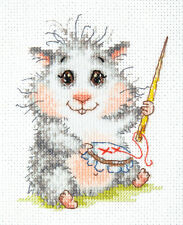 Cross Stitch Kit Wonderful Needle (hamster)