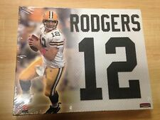 """Aaron Rodgers Jersey Number Collectible Canvas Picture 11"""" x 9"""" (BuyMVP)"""