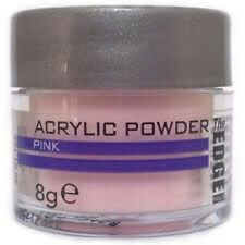 Powder Acrylic Pink Pink 8g / The Edge nails Supreme Quality Porcelain nails