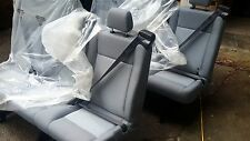 2 NEW 2015 FORD TRANSIT VAN PASSENGER CLOTH 3 PERSON COUCH BENCH SEAT GRAY SEATS