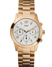 New Authentic GUESS Women Contemporary  Rose Gold Watch U13578L5  with Guess box