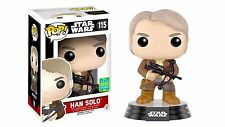 "SCE EXCLUSIVE STAR WARS HAN-SOLO WITH BOWCASTER 3.75"" VINYL POP FUNKO BRAND NEW"