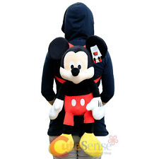 Disney Mickey Mouse Plush Doll Backpack Costume Bag Cushion Pillow - Giant Size