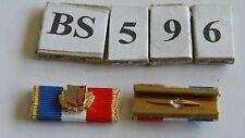 Nastro SPANGE vigili del fuoco Schleswig Holstein fedeltà servizi vecchio tipo 25mm (bs596)
