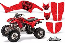 AMR Racing Honda TRX 400 EX Graphic Kit Wrap Quad Decal ATV 1999-2007 RELOAD RED