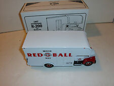 """First Gear 1957 International R-200 with Moving Van """"American Red Ball"""""""