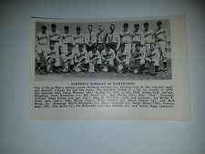 Northrop Bombers of Hawthorne 1942 Baseball Team Picture