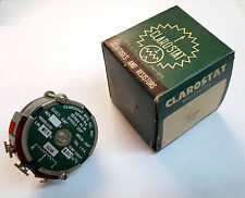 50K ohm CLAROSTAT 42JA WireWound Potentiometer 3 watt continuous turn Linear NIB