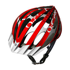 CARRERA ARTIGLIO2 HIGH QUALITY MTB BIKE BICYCLE HELMET 58-61CM RED AND WHITE