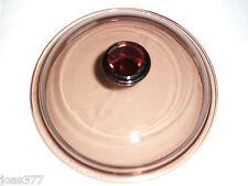 Pyrex Corning Vision V-1-C Amber Casserole V1C Lid