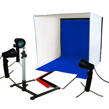 Photography Diffuser Box Tent Continuous Light Lighting Kit Camera Tripod