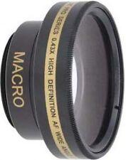 Wide Lens for Sony DCR-SR47/R SR47/L DCRSR47/L DCRSX73E DCR-DVD300 DCRDVD300