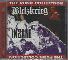 THE INSANE / BLITZKRIEG - THE PUNK COLLECTION - (still sealed cd) - AHOY CD 126