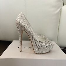 Authentic Casadei Pumps Swarovsky Size 39 New